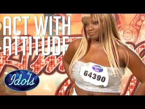 AUDITION WITH ATTITUDE! Rhonetta Doesn't Hold Back On American Idol Judges! Idols Global