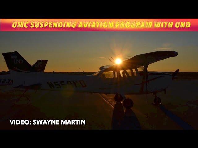 UMC Suspending Aviation Program With UND