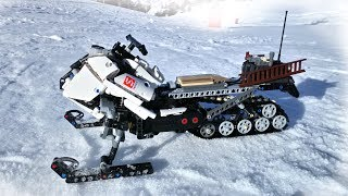 [MOC] Lego Technic RC Snowmobile - With BuWizz - Fast and Strong