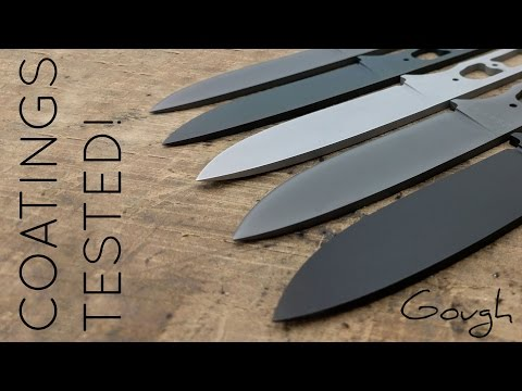Knife coating showdown! 6 different blade coatings tested.