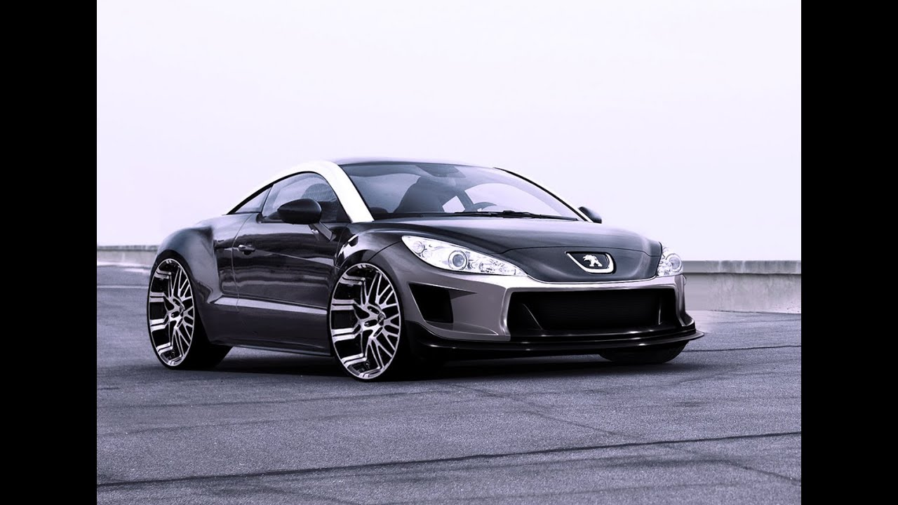 virtual tuning peugeot rcz 138 youtube. Black Bedroom Furniture Sets. Home Design Ideas