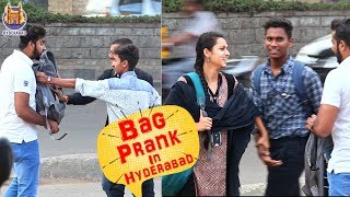 Best Hyderabadi Comedy Videos | Bag Prank in Hyderabad | Funny Prank Videos | Hyderabadi Videos
