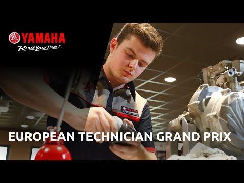 2018 Yamaha European Technician Grand Prix - YTA