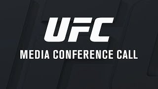UFC 232: Media Conference Call