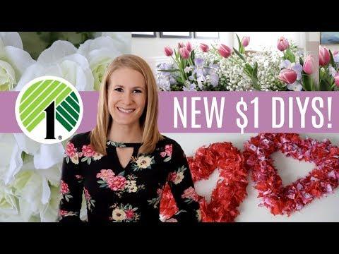 *NEW* Dollar Tree DIYs for Spring & Valentines 2019!