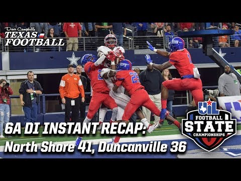 North Shore 41, Duncanville 36: 2018 6A DI Texas high school football championship recap