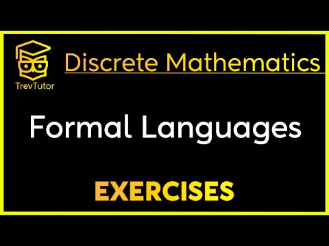 [Discrete Math 1] Formal Languages Examples
