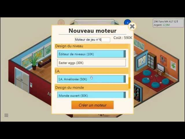 Sans Commentaire: Game Dev Tycoon Partie 9 1080P/60FPS