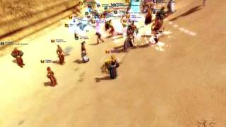 Saga of Ryzom : Front Fyros vs Aen (13/02/2009)