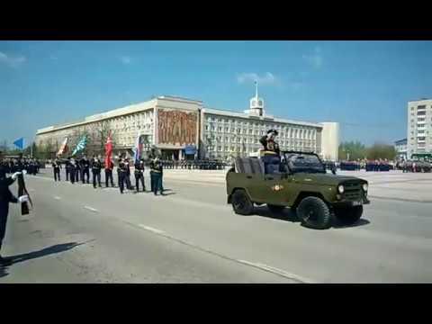 День Победы в Каменске-Уральском 2019. Парад наследников Победы