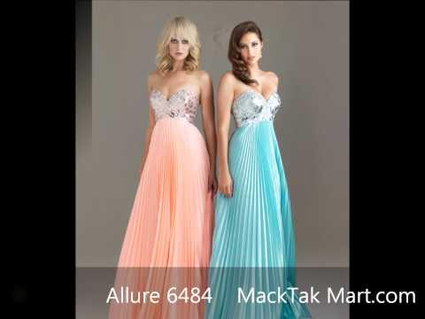 MackTakMart.com | Allure 6484 رومانسي كوكتيل اللباس