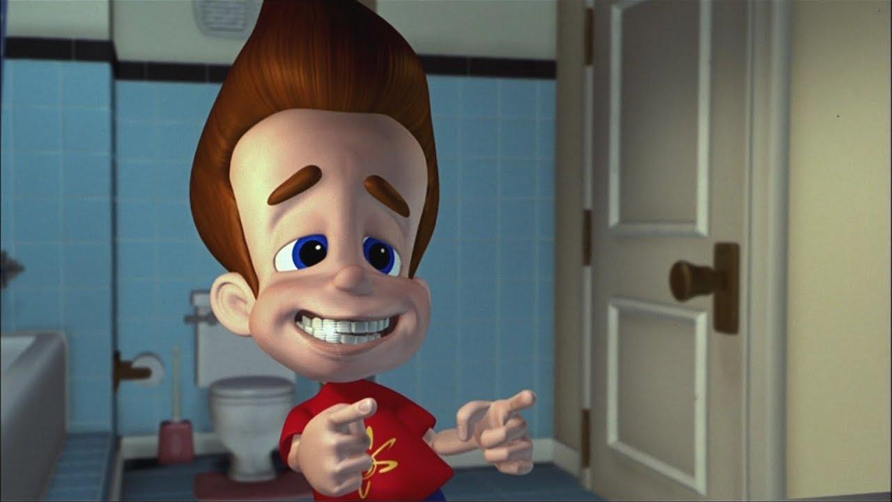 Jimmy Neutron Frisur