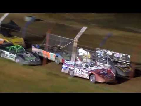 "Dog Hollow Speedway - 10/10/15 Super Late Models ""Run What You Brung"", Feature Race"