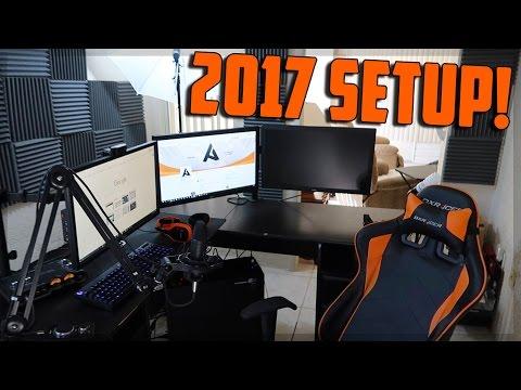 My 2017 YouTube & Streaming Setup!