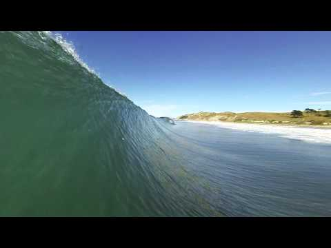 Surfing Hawkes Bay New Zealand