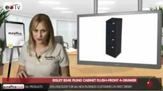 Bisley BS4E Filing Cabinet Flush-front 4-Drawer
