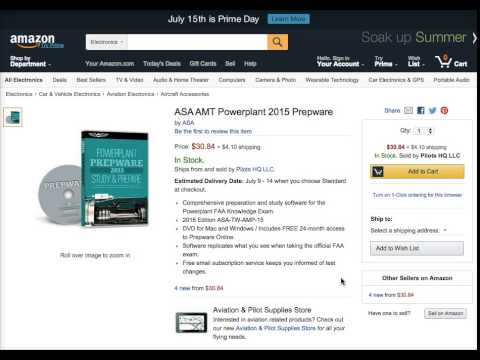 ASA AMT Powerplant 2015 Prepware Review