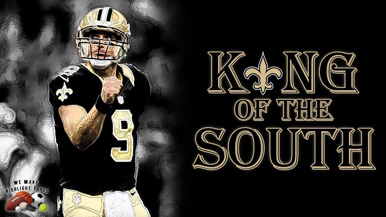 sale retailer e30ae b6b20 Drew Brees ||King of the South|| 2017-18 New Orleans Saints Highlights