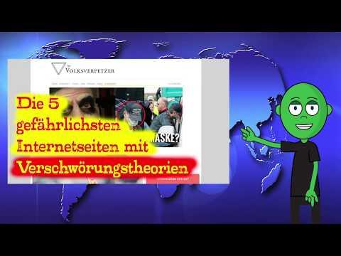 Die fünf gefährlichsten Internetseiten mit Verschwörungstheorien