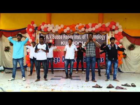K.v subba reddy college annual day celebration in 2016