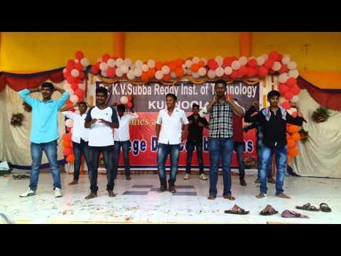 K.v subba reddy college annual day celebration in 2016