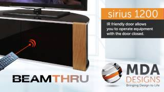 MDA Designs SIRIUS 1200 TV Cabinet