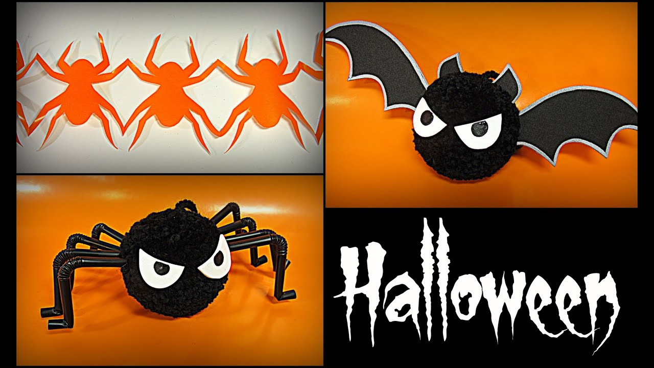 Diy decoraci n para halloween halloween decorations for Adornos colgar pared