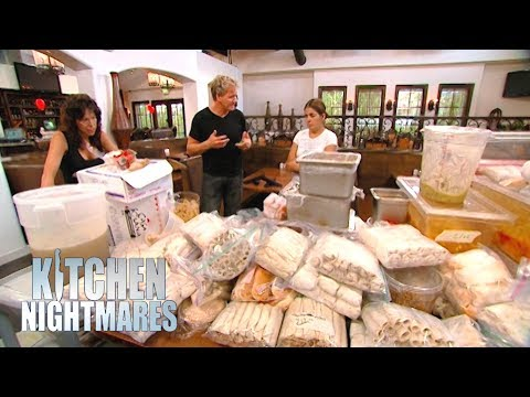 Ramsay Uncovers Over $12,000 of FROZEN Food! | Kitchen Nightmares