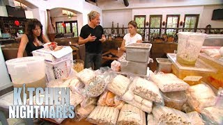 Ramsay Uncovers Over $12,000 of FROZEN Food! | Kitchen Nightmares