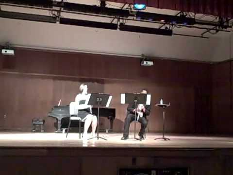 Rashad performs Duet No. 3 by Beethoven (recital p...