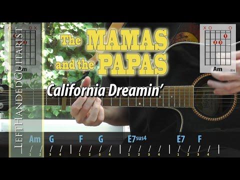 The Mamas & The Papas - California Dreamin' | guitar lesson