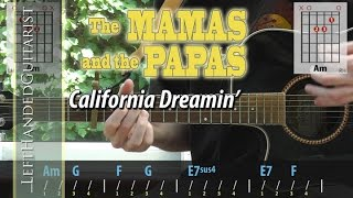 The Mamas & The Papas - California Dreamin' | guitar lesson