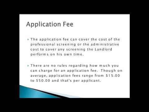 Module 1 - Rental Application