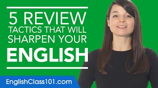 5 Self Study Strategies for Learning English