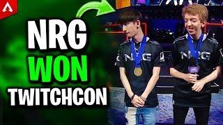 NRG Dizzy, Aceu & Mohr Won TwitchCon - Apex Legends Highlights