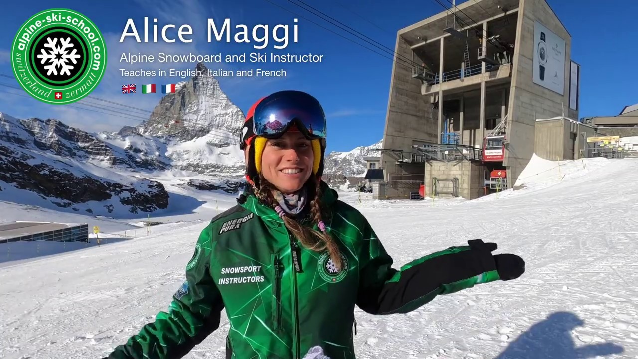 Meet Alice - Alpine Ski School Zermatt