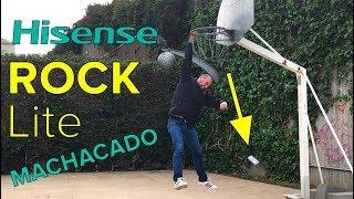 Hisense Rock Lite (2018) ... MALTRATADO!! - REVIEW ESPAÑOL