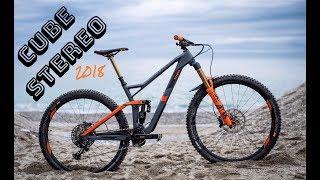 CUBE STEREO 150 I NEW ENDURO BIKE I 1080p