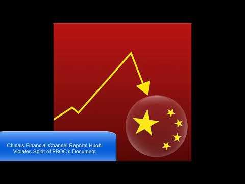 Bitcoin NEWS 12/1/2017:China's Financial Channel Reports Huobi Violates Spirit of PBOC's Document