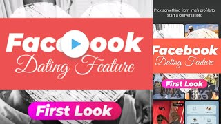 Amazing Facebook's Dating Feature: First Look! August 2018 ||
