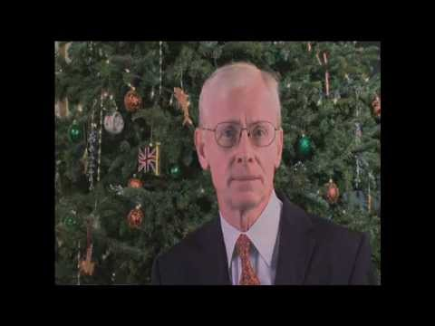 Governor Sir Richard Gozney Christmas Greetings Bermuda December 24 2011