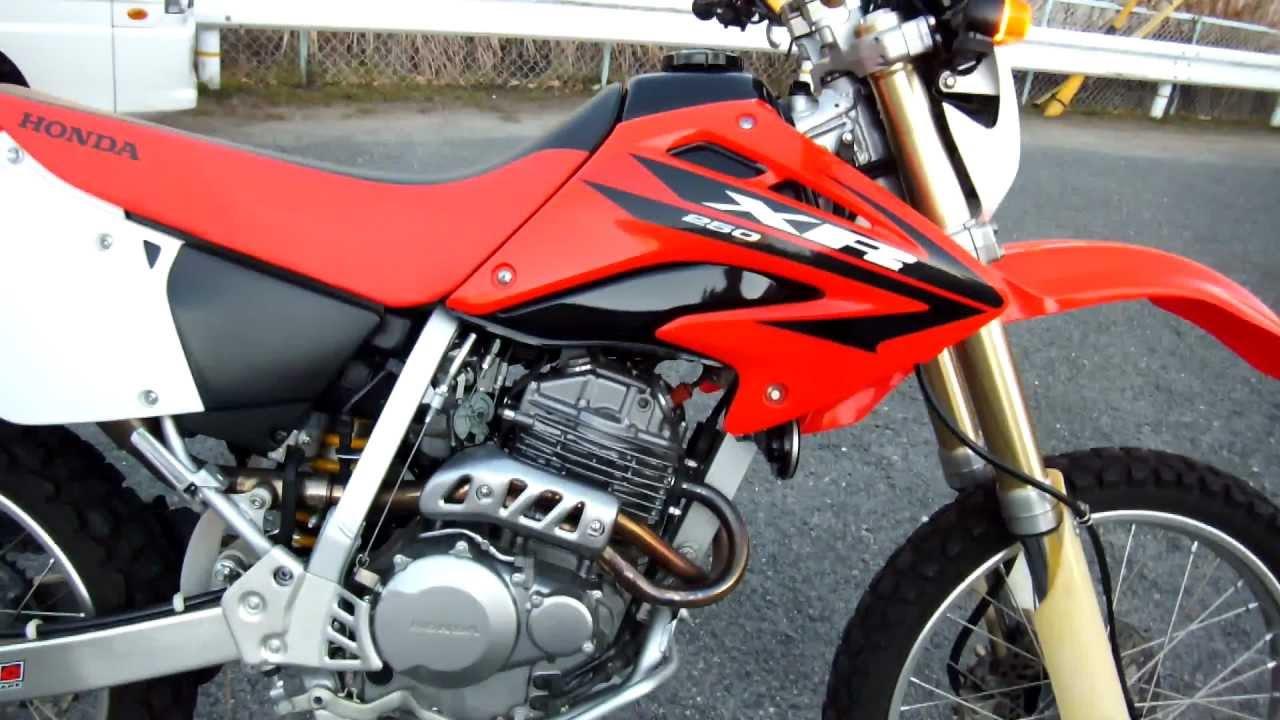 Honda Xr250 2006年式 Youtube