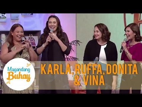 Karla Ruffa Donita and Vina share the common things they have  Magandang Buhay
