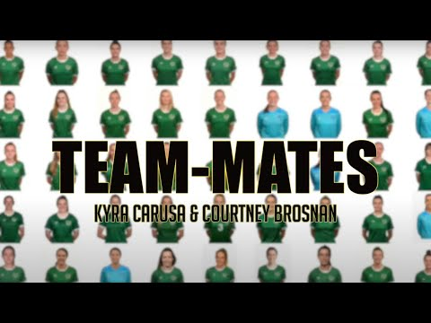 TEAM-MATES | Courtney Brosnan and Kyra Carusa