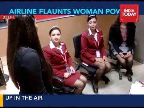 India Today : Meet SpiceJet's all-women flight crew.