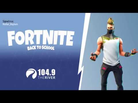 Fortnite - Back To School  | 104.9 the River