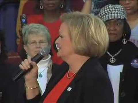 Senator Claire McCaskill in Kansas City, MO