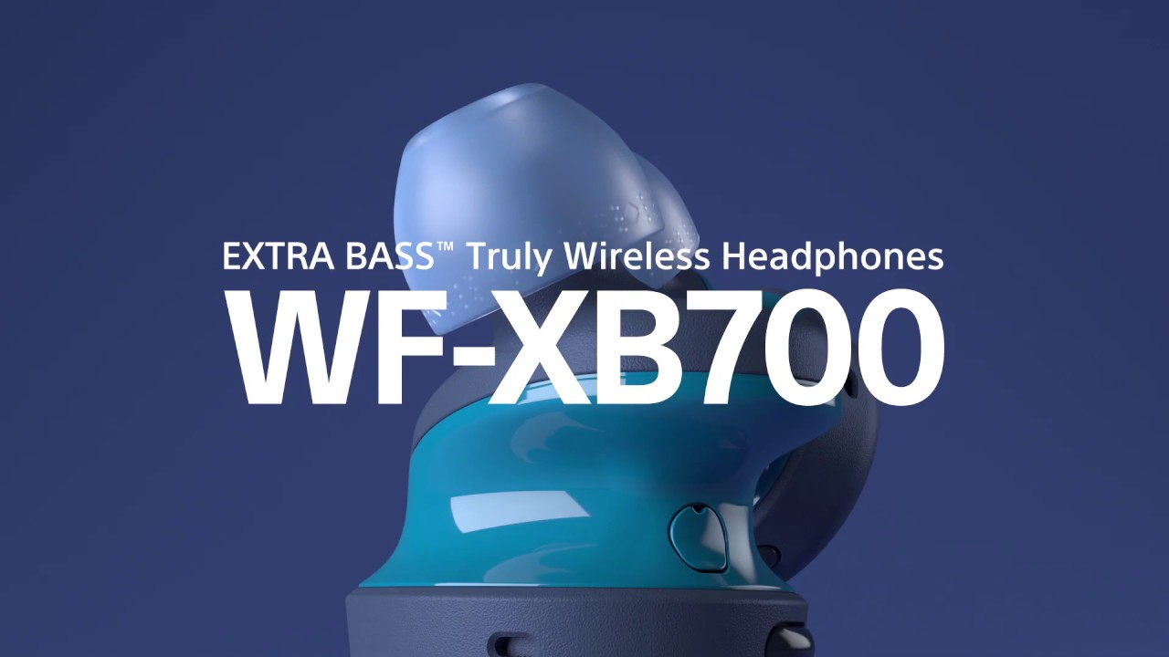 WF-XB700 Truly Wireless Headphones with EXTRA BASS™