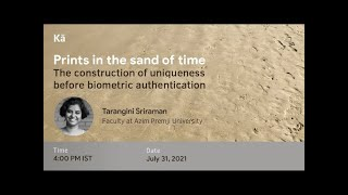 Prints in the sand of time: the construction of uniqueness before biometric authentication