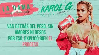 Karol G - La Dama [Karaoke]